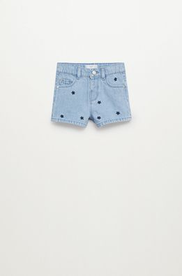 Mango Kids - Pantaloni scurti din denim pentru copii Dots 80-104 cm