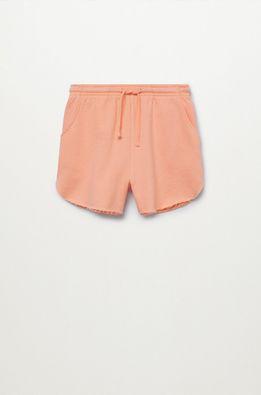 Mango Kids - Pantaloni scurti copii PASTEL