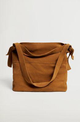 Mango - Kožená kabelka PRIMA