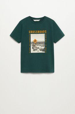 Mango Kids - Tricou copii CROSS