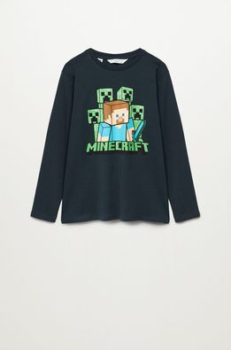 Mango Kids - Longsleeve copii MINE