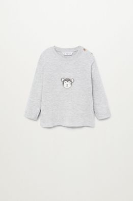 Mango Kids - Detské tričko s dlhým rukávom MONKEY