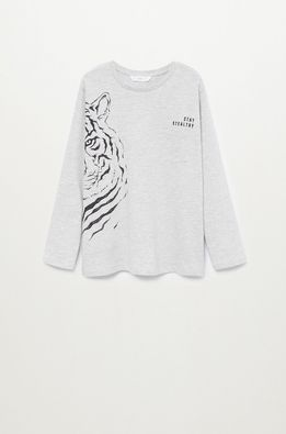 Mango Kids - Longsleeve copii JUNGLE