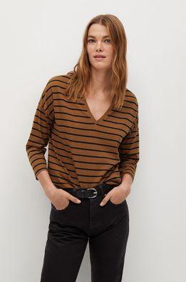 Mango - Tričko s dlhým rúkavom SACOV