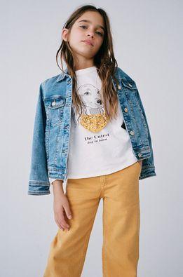 Mango Kids - Detské tričko s dlhým rukávom BROOK