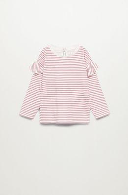 Mango Kids - Detské tričko s dlhým rukávom OLIVIA