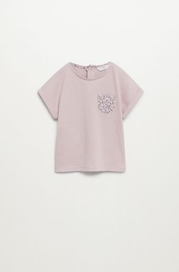 Mango Kids - Dětské tričko Irene 80-104 cm