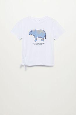 Mango Kids - Tricou copii ELEPHANT
