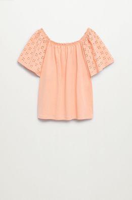 Mango Kids - Dětské tričko Lore 116-164 cm