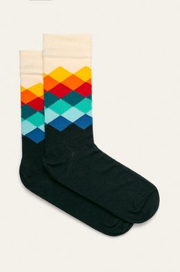 Happy Socks - Zokni Faded Diamond