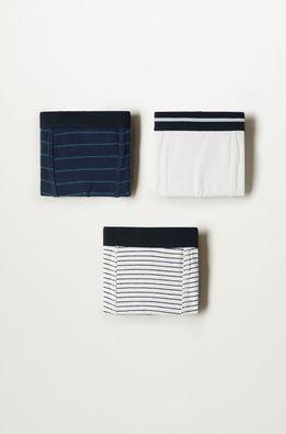 Mango Kids - Boxeri copii Stripes (3-pack)