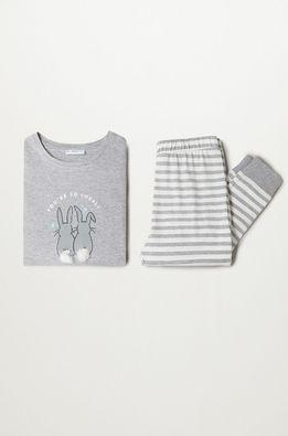 Mango Kids - Pijama copii Rabbit 116-164 cm