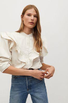 Mango - Bavlnená košeľa Luna