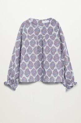 Mango Kids - Дитяча бавовняна блузка Tilas 110-164 cm