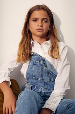 Mango Kids - Детска риза Esme 110-164 cm
