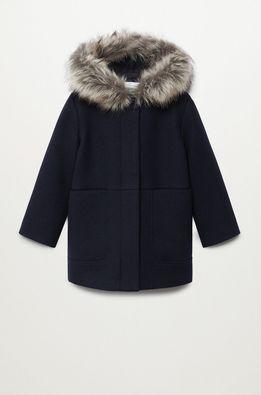 Mango Kids - Dětský kabát Mayra 110-164 cm