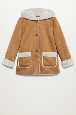 Mango Kids - Детско палто Juliana 110-164 cm