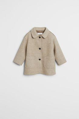Mango Kids - Detský kabát Panob 80-110 cm