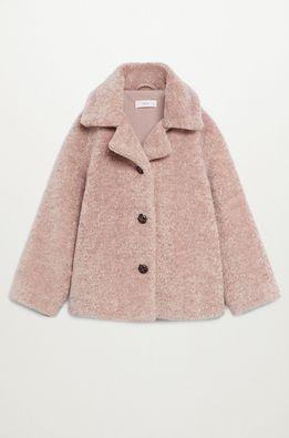 Mango Kids - Detský kabát Arison 110-164 cm