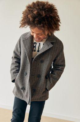 Mango Kids - Detský kabát Balvin 128-164 cm