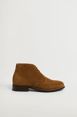 Mango Man - Велурени обувки SAFARI