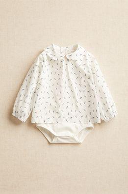 Mango Kids - Košeľa pre bábätká PLUMA