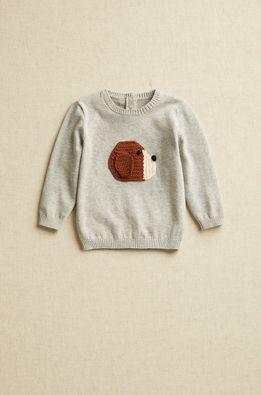 Mango Kids - Бебешки пуловер BEAGLE