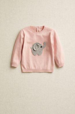 Mango Kids - Бебешки пуловер DUMBO