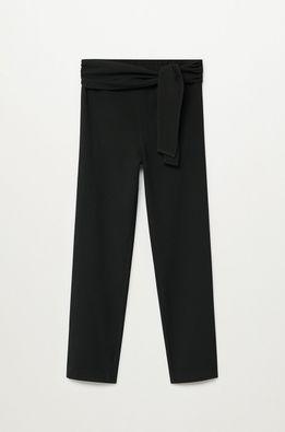 Mango Kids - Pantaloni copii Bow 110-164 cm