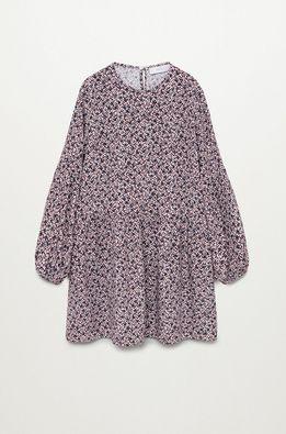 Mango Kids - Dievčenské šaty Doty 110-164 cm