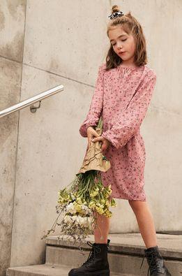 Mango Kids - Детска рокля Rosina 110-152 см