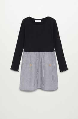 Mango Kids - Детска рокля 110-164 cm