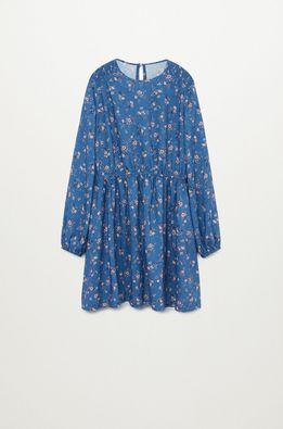 Mango Kids - Dívčí šaty Jardin 110-164 cm