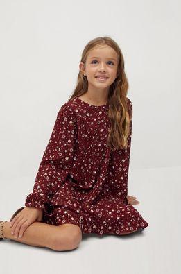 Mango Kids - Детска рокля Grace 110-152 cm