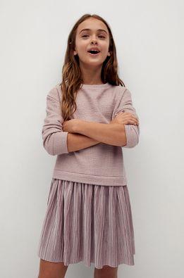 Mango Kids - Детска рокля GINA