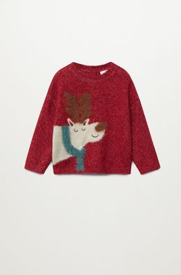 Mango Kids - Детски пуловер RENO