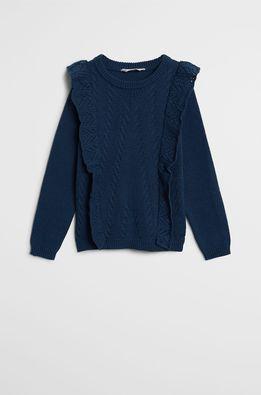 Mango Kids - Детски пуловер Karen 110-164 cm