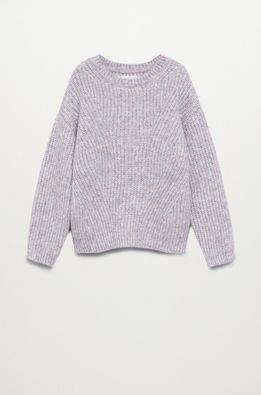 Mango Kids - Detský sveter LILA