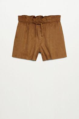 Mango Kids - Pantaloni scurti copii Pimy 110-164 cm