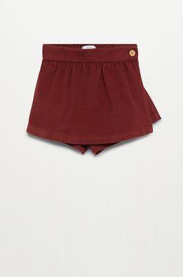 Mango Kids - Detské krátke nohavice Raquel 80-110 cm