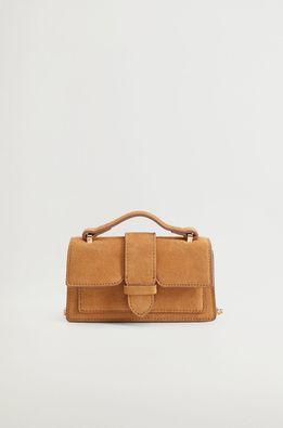 Mango - Велурена чанта Jacoba