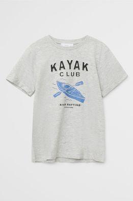 Mango Kids - Tricou copii Kayak 110-164 cm
