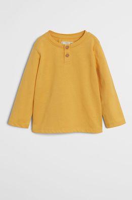 Mango Kids - Detské tričko s dlhým rukávom Duran 80-104 cm