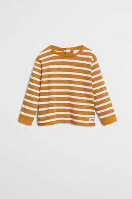 Mango Kids - Detské tričko s dlhým rukávom Ivan 80-104 cm