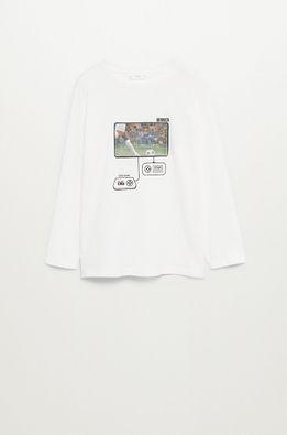 Mango Kids - Longsleeve copii Football 110-152 cm