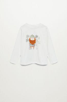 Mango Kids - Detské tričko s dlhým rukávom LENADOR