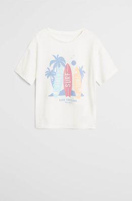 Mango Kids - Tricou copii Surf 110-164 cm
