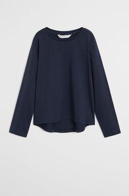 Mango Kids - Детска риза с дълги ръкави Basica 110-164 cm