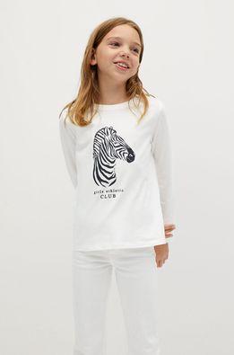 Mango Kids - Детска риза с дълги ръкави Sheldon 110-164 см