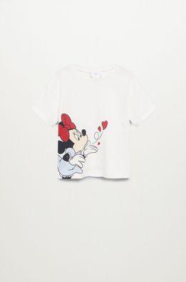 Mango Kids - Детска тениска Mkiss 80-110 cm